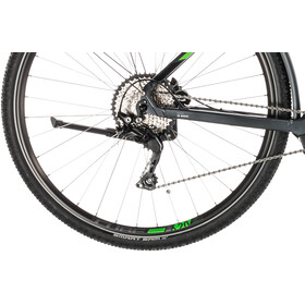 Cube Cross Hybrid Pro 400 Allroad trapeze, iridium'n'green